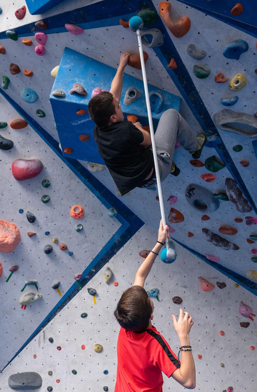 L'escalada com a recurs pedagògic